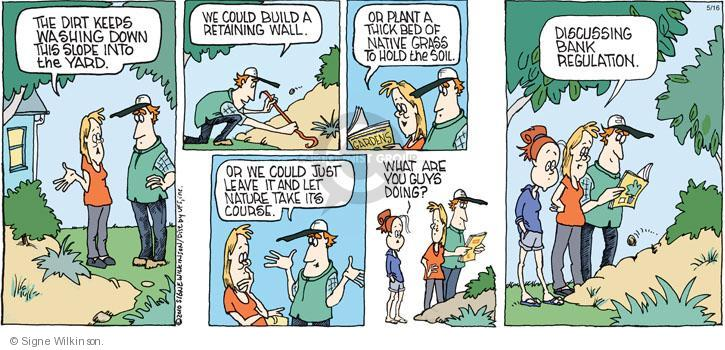 Comic Strip Signe Wilkinson  Family Tree 2010-05-16 leave