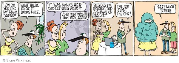 Comic Strip Signe Wilkinson  Family Tree 2010-05-15 high school