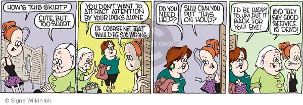 Comic Strip Signe Wilkinson  Family Tree 2010-06-12 retail