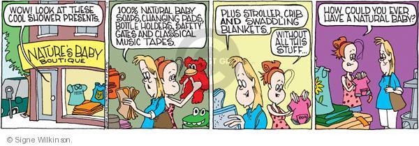 Comic Strip Signe Wilkinson  Family Tree 2010-06-18 retail