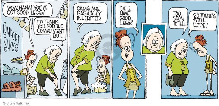 Comic Strip Signe Wilkinson  Family Tree 2010-06-27 good