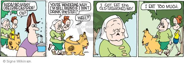 Comic Strip Signe Wilkinson  Family Tree 2010-07-01 fashion