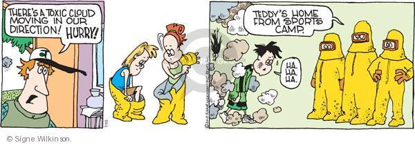 Comic Strip Signe Wilkinson  Family Tree 2010-07-15 body odor