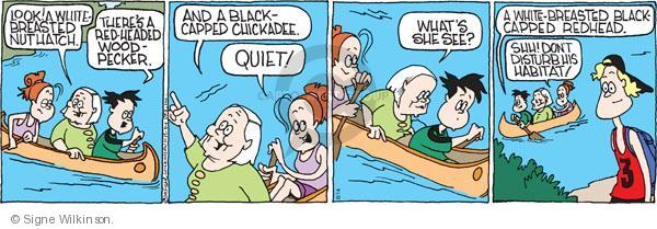 Comic Strip Signe Wilkinson  Family Tree 2010-08-14 family trip