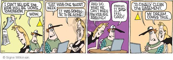 Comic Strip Signe Wilkinson  Family Tree 2010-08-24 dream