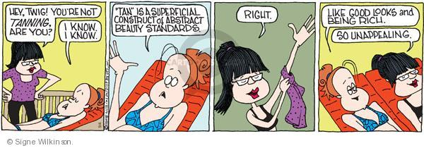 Comic Strip Signe Wilkinson  Family Tree 2010-09-04 society