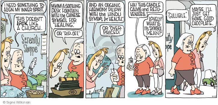Comic Strip Signe Wilkinson  Family Tree 2010-09-12 price