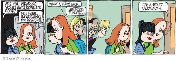 Comic Strip Signe Wilkinson  Family Tree 2010-09-17 boy