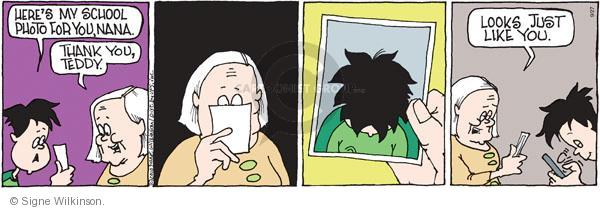 Comic Strip Signe Wilkinson  Family Tree 2010-09-27 text