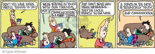 Comic Strip Signe Wilkinson  Family Tree 2010-09-29 don't