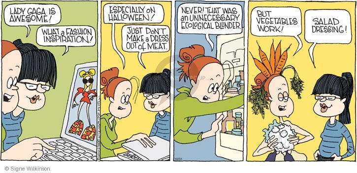 Comic Strip Signe Wilkinson  Family Tree 2010-10-31 teen