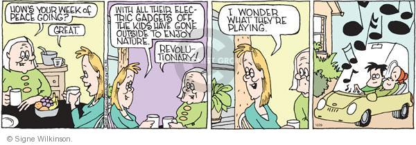 Comic Strip Signe Wilkinson  Family Tree 2010-10-29 music