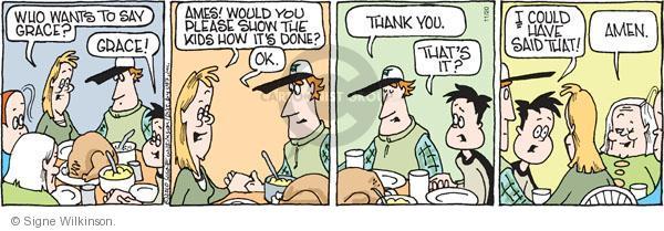Comic Strip Signe Wilkinson  Family Tree 2010-11-20 teen