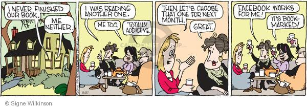 Comic Strip Signe Wilkinson  Family Tree 2010-11-27 online