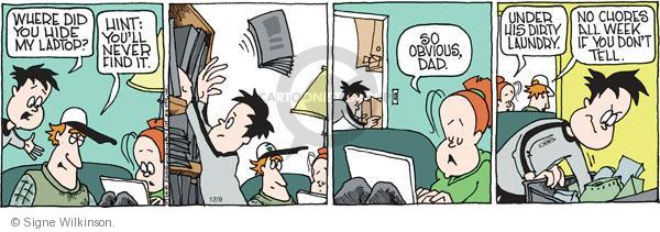 Comic Strip Signe Wilkinson  Family Tree 2010-12-09 online