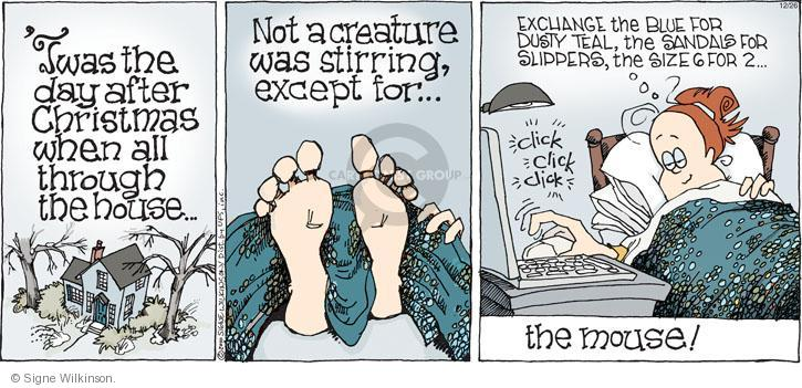 Comic Strip Signe Wilkinson  Family Tree 2010-12-26 online