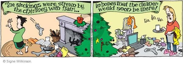 Comic Strip Signe Wilkinson  Family Tree 2010-12-21 'twas