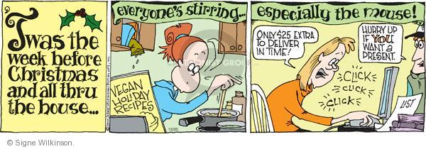Comic Strip Signe Wilkinson  Family Tree 2010-12-20 online shop