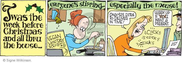 Comic Strip Signe Wilkinson  Family Tree 2010-12-20 internet