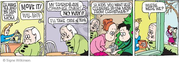 Comic Strip Signe Wilkinson  Family Tree 2010-12-27 sibling
