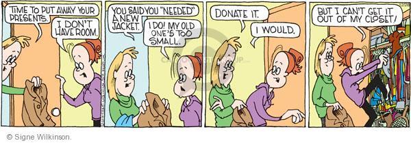 Comic Strip Signe Wilkinson  Family Tree 2010-12-28 child
