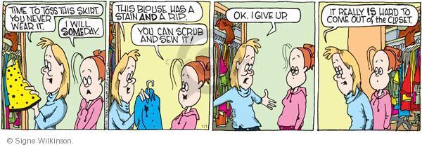 Comic Strip Signe Wilkinson  Family Tree 2011-01-01 time