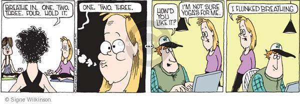 Comic Strip Signe Wilkinson  Family Tree 2011-01-14 class