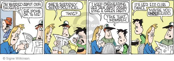Comic Strip Signe Wilkinson  Family Tree 2011-01-24 environment
