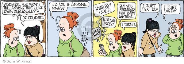 Comic Strip Signe Wilkinson  Family Tree 2011-02-02 friend