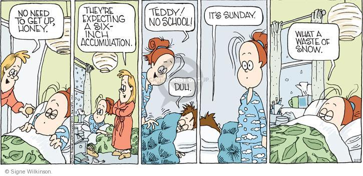 Comic Strip Signe Wilkinson  Family Tree 2011-02-27 school