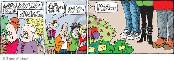 Comic Strip Signe Wilkinson  Family Tree 2011-03-12 aren't
