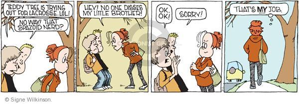 Comic Strip Signe Wilkinson  Family Tree 2011-03-17 rivalry