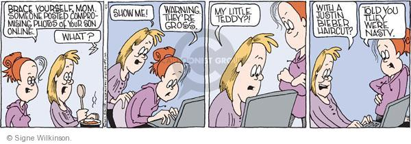 Comic Strip Signe Wilkinson  Family Tree 2011-04-04 online