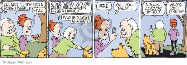 Comic Strip Signe Wilkinson  Family Tree 2011-04-08 online