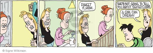 Cartoonist Signe Wilkinson  Family Tree 2011-04-13 mothers and daughters