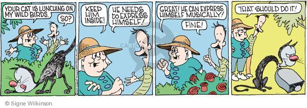 Comic Strip Signe Wilkinson  Family Tree 2011-05-07 family