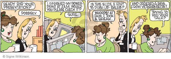 Comic Strip Signe Wilkinson  Family Tree 2011-05-21 internet