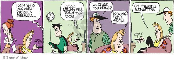 Comic Strip Signe Wilkinson  Family Tree 2011-05-31 parenting