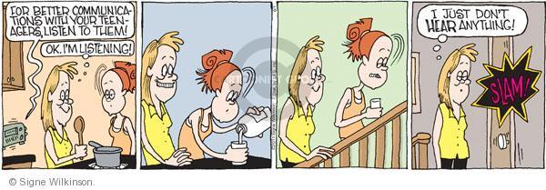 Comic Strip Signe Wilkinson  Family Tree 2011-06-01 child