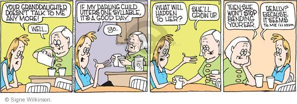Comic Strip Signe Wilkinson  Family Tree 2011-06-02 parenthood