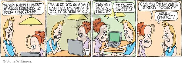 Comic Strip Signe Wilkinson  Family Tree 2011-06-03 child