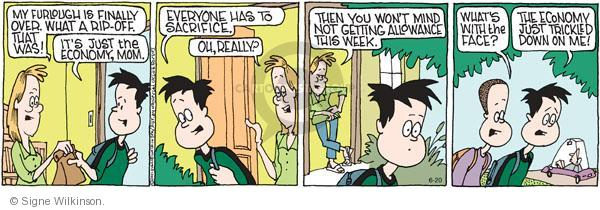 Comic Strip Signe Wilkinson  Family Tree 2011-06-20 child