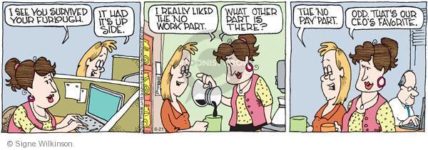 Comic Strip Signe Wilkinson  Family Tree 2011-06-21 employment