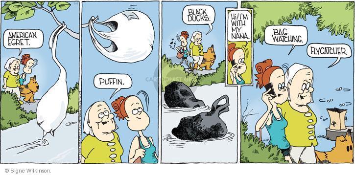 Comic Strip Signe Wilkinson  Family Tree 2011-07-10 bag