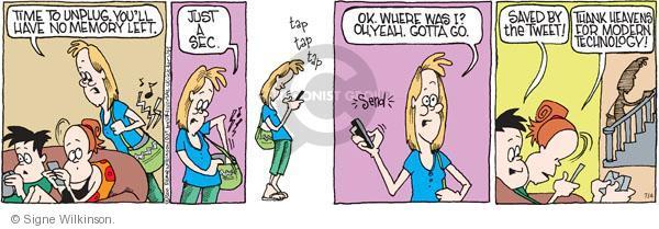 Comic Strip Signe Wilkinson  Family Tree 2011-07-04 parenthood