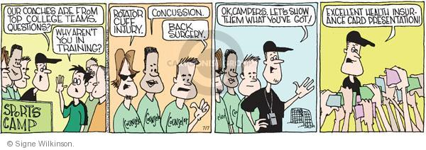 Comic Strip Signe Wilkinson  Family Tree 2011-07-07 counselor