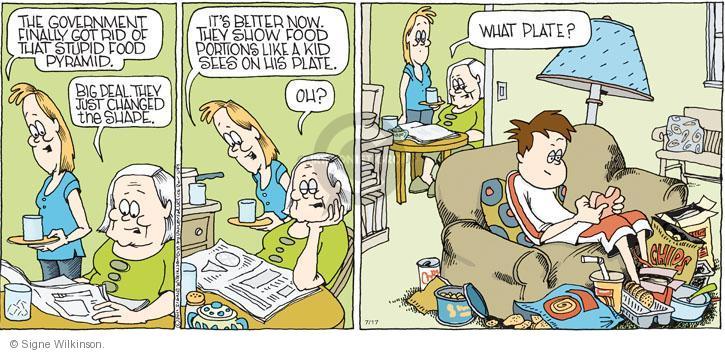 Comic Strip Signe Wilkinson  Family Tree 2011-07-17 child