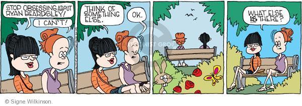 Comic Strip Signe Wilkinson  Family Tree 2011-07-11 relationship