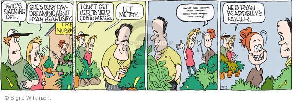 Cartoonist Signe Wilkinson  Family Tree 2011-07-13 dad