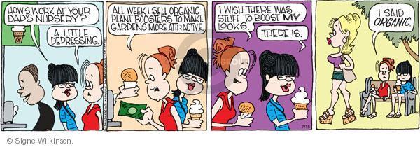 Comic Strip Signe Wilkinson  Family Tree 2011-07-15 image